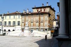 Square in Udine, Italy Stock Photos