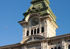 The square of unity in Trieste, Italy. Stock Photos