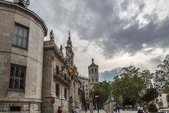 Square Valladolid Royalty Free Stock Photography
