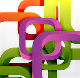 Square vector background Stock Images