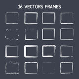16 square vector frame Royalty Free Stock Images
