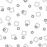Square Pattern. Square Vector Illustration Hand Drawn Pattern Background Texture Cartoon Art stock illustration