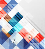 Square vector modern abstract background Royalty Free Stock Images
