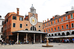 Square in Venice, Italy stock image