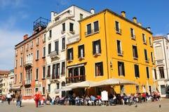 Square in Venice, Italy stock photo