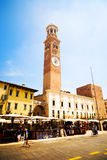 Square of Verona Italy Royalty Free Stock Images