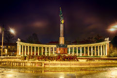 A square in Vienna Royalty Free Stock Image