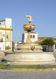 Square in the village of Marchena Royalty Free Stock Image