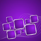 Square violet background. Vector Illustration 1 Royalty Free Stock Image