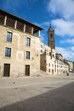 Square at vitoria city Royalty Free Stock Photo