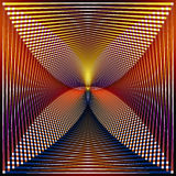 Square volume background. From the crossed lines Royalty Free Stock Photo