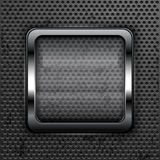 Square web button Royalty Free Stock Images