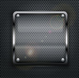 Square web button Stock Images