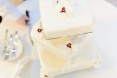 Square Wedding Cake Stock Photos