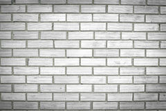 Square white brick wall background Stock Photography