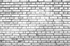 Square white brick wall background Stock Images