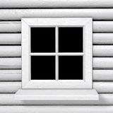 Square white country style window Stock Photo