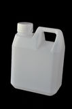 Square white plastic water gallon Stock Images