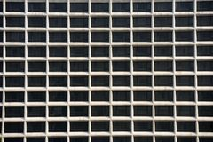 Square Window. Of a modern building Royalty Free Stock Images