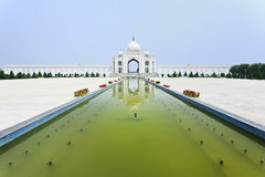 Free Square With Pond In Front Of Mosque At Hui Cultural Center In Yinchuan, Ningxia Province, China Stock Photos - 93077273