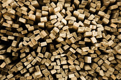 Square wood Royalty Free Stock Image