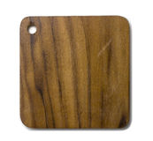 Square Wooden saucer Stock Images