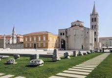 Square zeleni zadar dalmatia croatia europe Royalty Free Stock Image