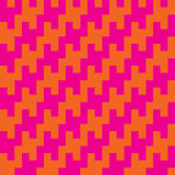 Square Zigzag Houndstooth Royalty Free Stock Image