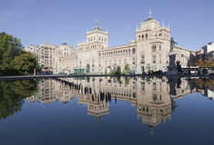 Square of Zorrilla, Valladolid, Spain Stock Photo