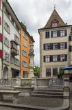Square in Zurich Stock Images