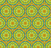 Squared background in eastern style-ornamental seamless pattern Royalty Free Stock Photo