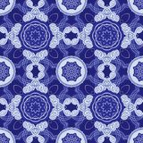 Squared background - ornamental seamless pattern. Royalty Free Stock Photos