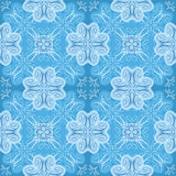 Squared background - ornamental seamless pattern. Stock Image