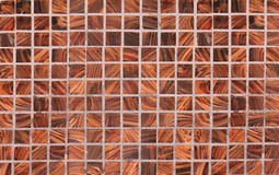 Squared Background of wooden checks, inlaid work Royalty Free Stock Photography