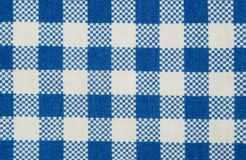 Squared cloth pattern Royalty Free Stock Photo