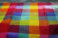 Squared cloth Stock Images