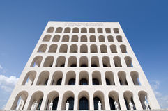 Squared Colosseum Rome Royalty Free Stock Photos