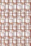 Squared Geometric Pattern royalty free illustration