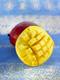 Squared mango Royalty Free Stock Photos