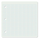 Squared notebook page Stock Image