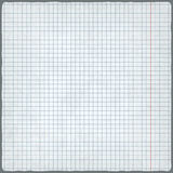 Squared paper. blank design sheet Stock Image