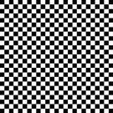 Black and White Check Pattern. Background Stock Illustration