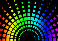 Squared Rainbow Background Royalty Free Stock Images