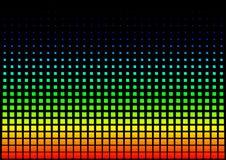 Squared Rainbow Background royalty free illustration