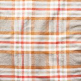 Squared striped shirt material fragment Royalty Free Stock Photography