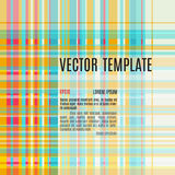 Squared vector background Stock Photography