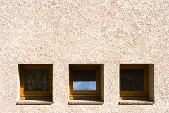 Squared windows Stock Image