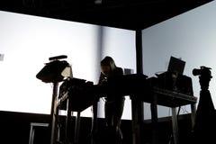 Squarepusher在生波探侧器节日的电子, techno和四周带生活表现 免版税库存照片