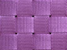 Squares. Purple background divided in squares Stock Photography