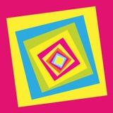 Squares01 Imagen de archivo libre de regalías